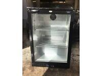 LEC Single Back Bar fridge