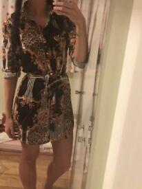 Shirt dress size 8 BNWT