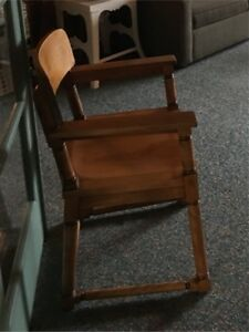 Wood chairs vintage
