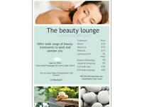 Eid Beauty treatments on offer