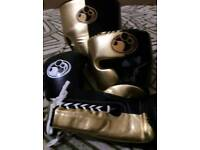 new customized grant boxing set in all size in real leather