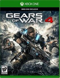 Brand New - sealed - Gears Of War 4 game - Xbox One
