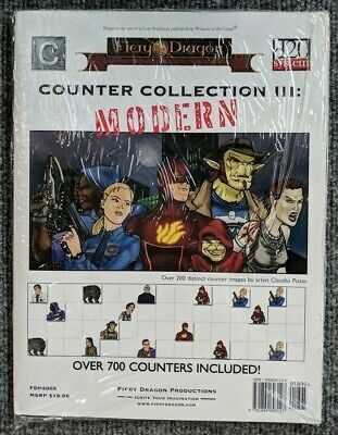 Fiery Dragon: Counter Collection 3: Modern RPG FDP4005