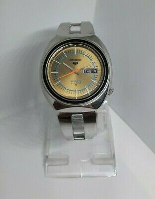 VINTAGE SEIKO 5 SPORTS DAY/DATE AUTOMATIC MEN'S WATCH 6319-8070