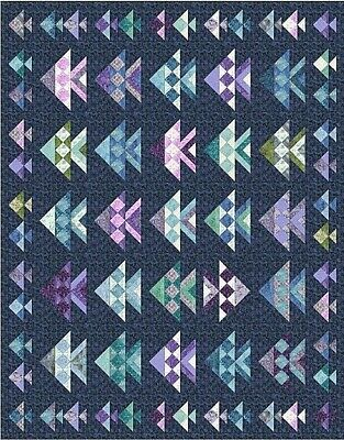 New Pieced Quilt Pattern  ONE FISH TWO FISH 72