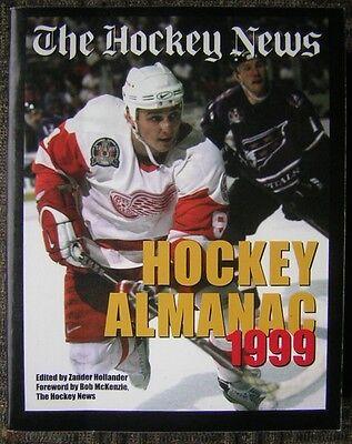 The Hockey News Hockey Almanac 1999   Edited By Zander Hollander