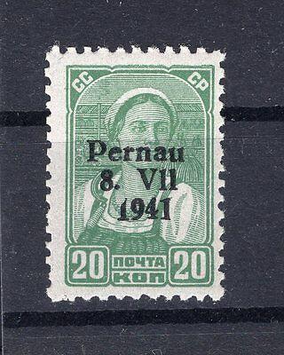 Estland PERNAU 8 PFVI ABART**POSTFRISCH BPP 150EUR (F8441