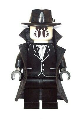 Rorschach-watchmen (Custom Designed Minifigure - Rorschach Watch Men Printed on LEGO Parts)