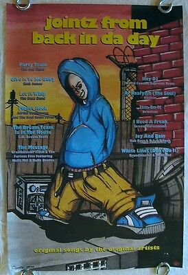 Jointz From Back in da Day  1994 pro POSTER Old School Quality Warlock Records