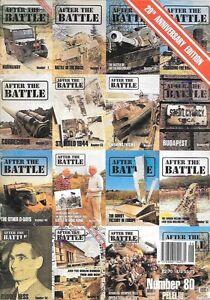 After The Battle Magazine 80 Germany Russia Artifacts Rommel WWII Battlefields