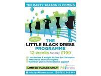 Little black dress programme.