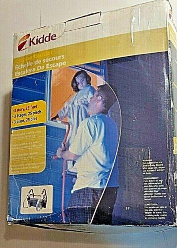 Kidde 468094 Emergency Escape Ladder,25 Ft,3-Story