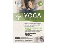 Yoga For Health - Free Session at Stafford by Isha Foundation