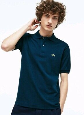 Lacoste L1212 Mens Polo Shirt Size 4  Azurite 100% AUTHENTIC Rrp £80