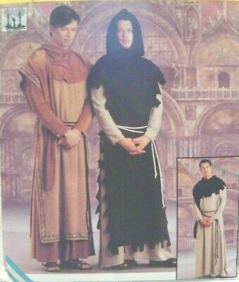 Monk Costume Pattern (SEWING PATTERN McCalls 9426 Medieval MONK HOOD ROBE TABBARD Lg-Xlg)