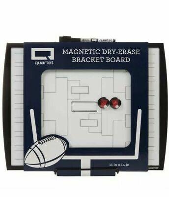 Quartet Magnetic Dry Erase Bracket Board 11 X 14 32 Teams New 3 Pieces