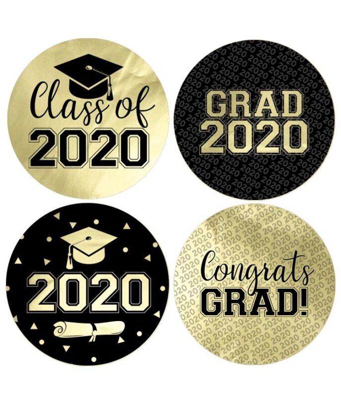 2020 graduation stickers