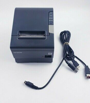 Epson Tm-t88v M244a Point Of Sale Thermal Receipt Printer Tested