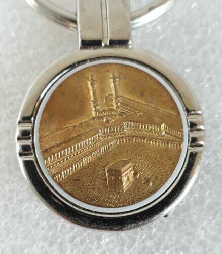 Islam Islamic Mecca Kaaba medal Key chain rare vintage Saudi Kuwait Qatar Yemen