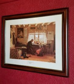 Framed Grandfather's Pet by William H. Snape
