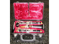 Yamaha Clarinet 26II with case and stand