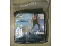 Crivit Outdoor Fishing Waders With Boots Medium Size 6.5 to 7