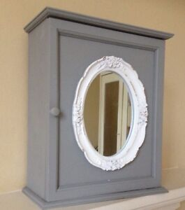 shabby chic bathroom cabinet with mirror shabby chic grey bath wall storage cabinet white 25729