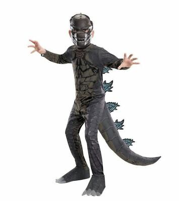 Godzilla - King of the Monsters - Child Dinosaur Costume](Child King Costume)