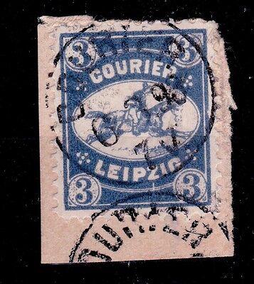 Privatpost Leipzig,  Wert der Courier-Gesellschaft von 1892