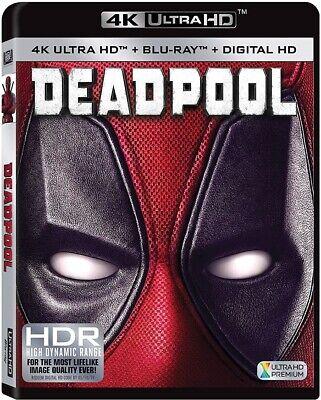 Deadpool (Blu-ray Disc, 2016, 2-Disc Set, 4K Ultra HD Blu-ray/Blu-ray)