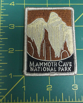 New Traveler Series Patch Mammoth Cave National Park Kentucky Embroidered Patch