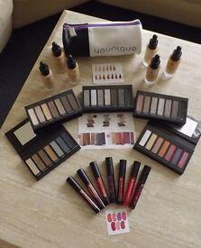 Genuine Younique Shadow Pallet; Liquid Foundation & Stiff Upper Lip Stain RRP £86 + FREE BAG £20