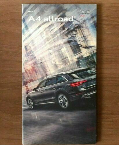 2017 AUDI A4 Allroad Sales Brochure Catalog US 17 2.0T