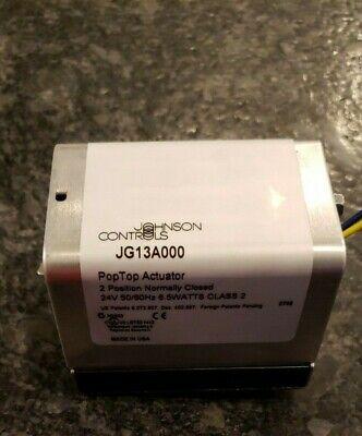 Johnson Controls Pop Top Actuator 24v Jg 13a000