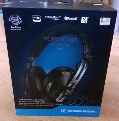 Sennheiser Momentum 2.0 A/E Around-Ear Wireless Headphones (M2.AEBT) - Black
