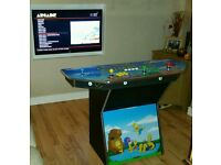 Custom 4 Player Arcade Machine (thousands of games)