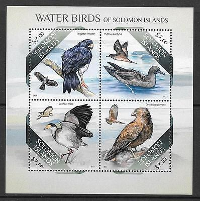 SOLOMON ISLANDS 2013 WATER BIRDS (1) MNH