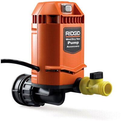 (RIDGID Wet Dry Vacs Quick Connect Pump Accessory Durable Garden Hose Attachment)