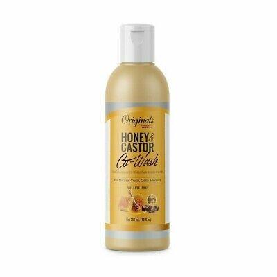Africa's Best Originals Honey & Castor Co-Wash for Natural Curls Coils Wave