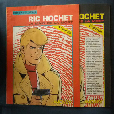 Ric Hochet / La Main de la mort Partie 1 & 2 supplément au Journal de Mickey