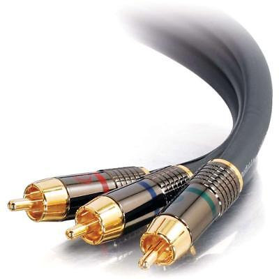 100'FT 3-RCA Component Video Cable Gold Plated RGB C2G SonicWave Digital Audio - 3 Sonicwave Component Video