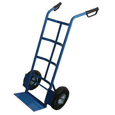 Heavy Duty Sack Truck Silverline Home Office Warehouse Trolly Lifting Tools DIY