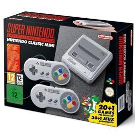 Super Nintendo SNES Classic Mini *New In Box*