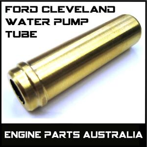 FORD CLEVELAND BRASS WATER PUMP TUBE INTO BLOCK 302 351