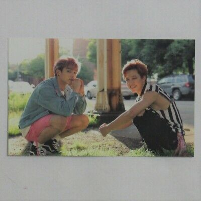 BTS Official Photocard Now3 in Chicago Dreaming Days Jungkook + Jimin Unit