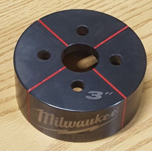 MILWAUKEE 49-16-2674 EXACT 3 in. Conduit Knockout Die NEW Force Logic