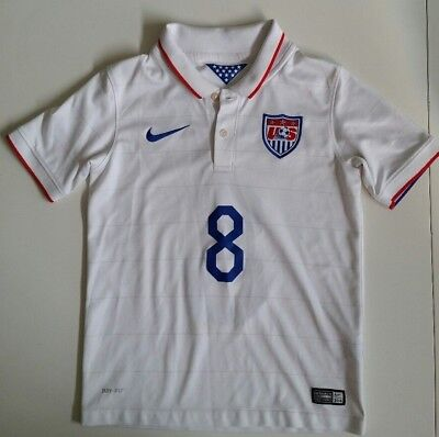 ecc66d7fc Clint Dempsey US Soccer Nike Authentic Jersey 2014 USMNT world cup Youth  Small 8