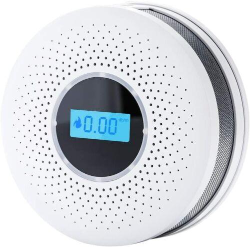 smoke detector and carbon monoxide detector alarm