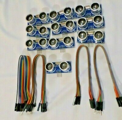 10pcs Ultrasonic Module Hc-sr04 Distance Measuring Transducer Sensor For Arduino