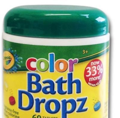 Crayola Color Bath Drops Water Changer Fun Children Toddlers Baby - Crayola Baby